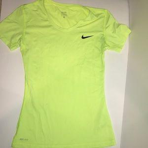 Nike Pro Fluorescent Tee